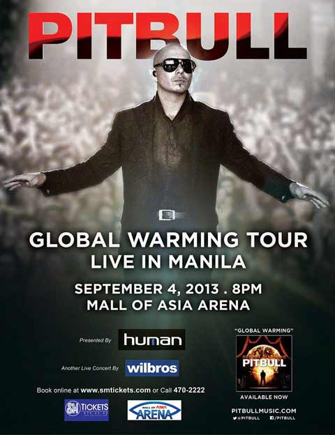 Pitbull Live in Manila 2013