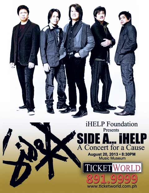 Side A… iHELP: A Concert for a Cause