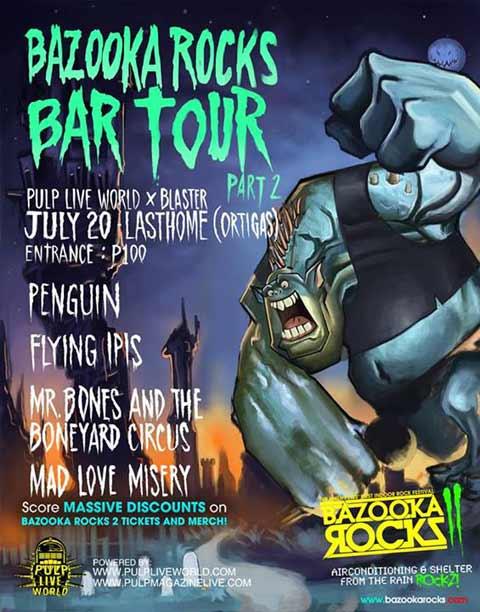 Bazooka Rocks 2 Bar Tour Part 2