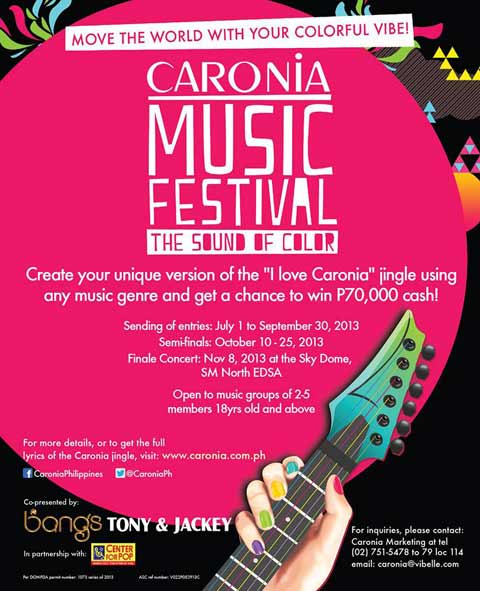 Caronia Music Festival Sound of Color