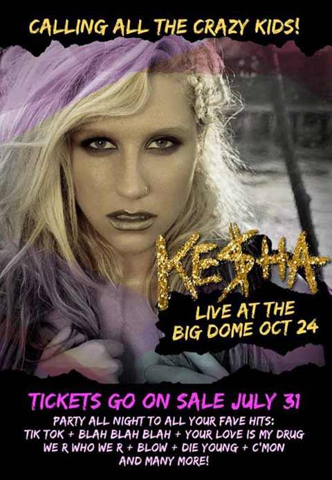 Kesha Live in Manila 2013