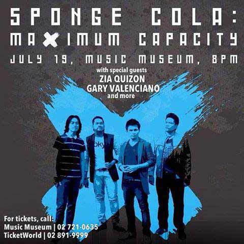 Sponge Cola : Maximum Capacity Concert