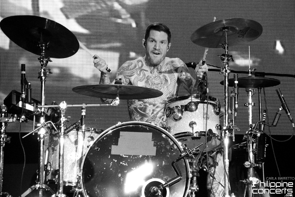 Andy Hurley - Fall Out Boy Live in Manila