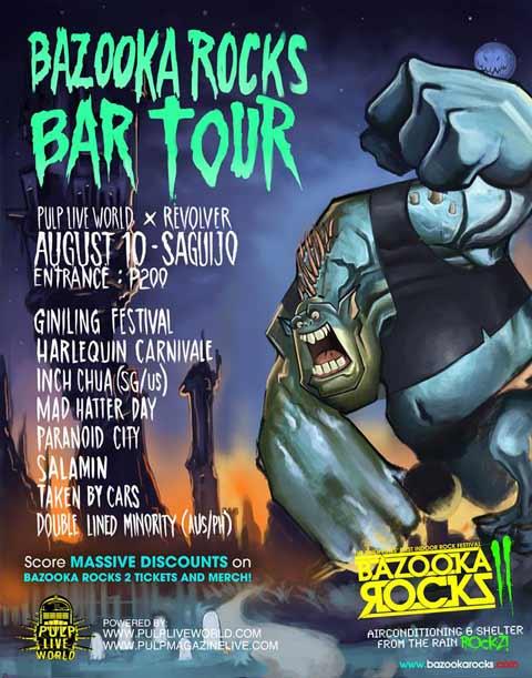 Bazooka Rocks Bar Tour at Saguijo