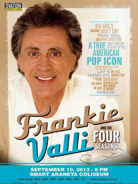 Frankie Valli and Four Seasons Live in Manila