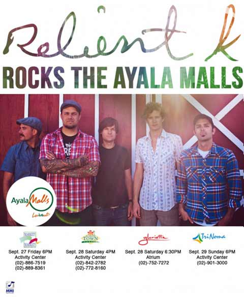 Relient K Live at the Ayala Malls