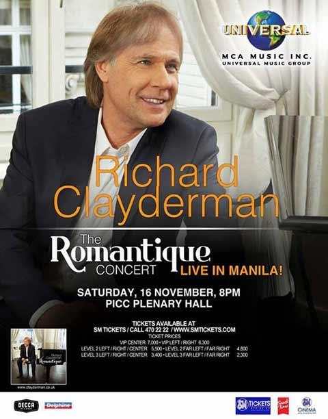 Richard Clayderman Live in Manila