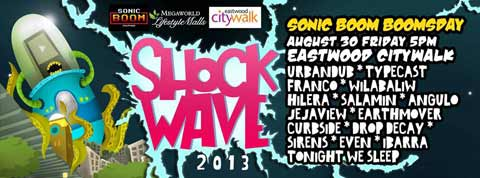 Shockwave 2013 Sonic Boom