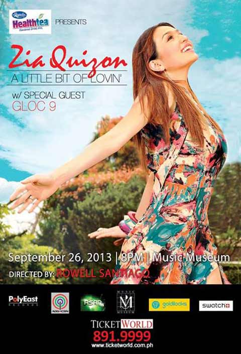 Zia Quizon Concert at the Music Museum