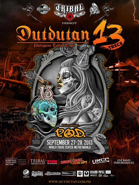 P.O.D. to perform at Dutdutan 2013