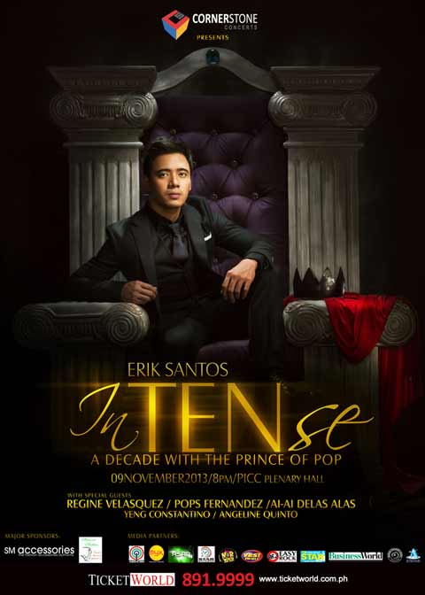 Erik Santos inTENse Concert