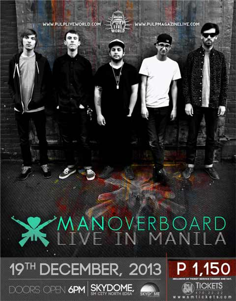 Man Overboard Live in Manila
