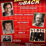 Michael Johnson, Stephen Bishop and Joe Puerta Back to Back to Back Concert