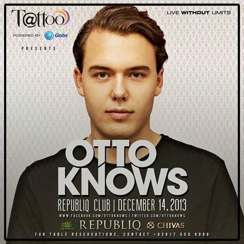 Otto Knows at Republiq Club