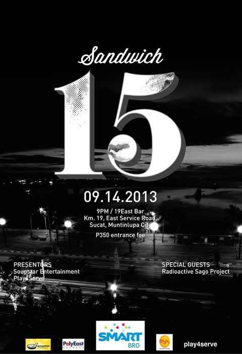 Sandwich 15th Anniversary Concert