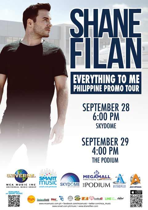 Shane Filan Philippine Promo Tour