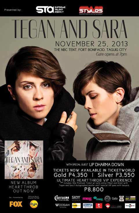 Tegan and Sara Live in Manila