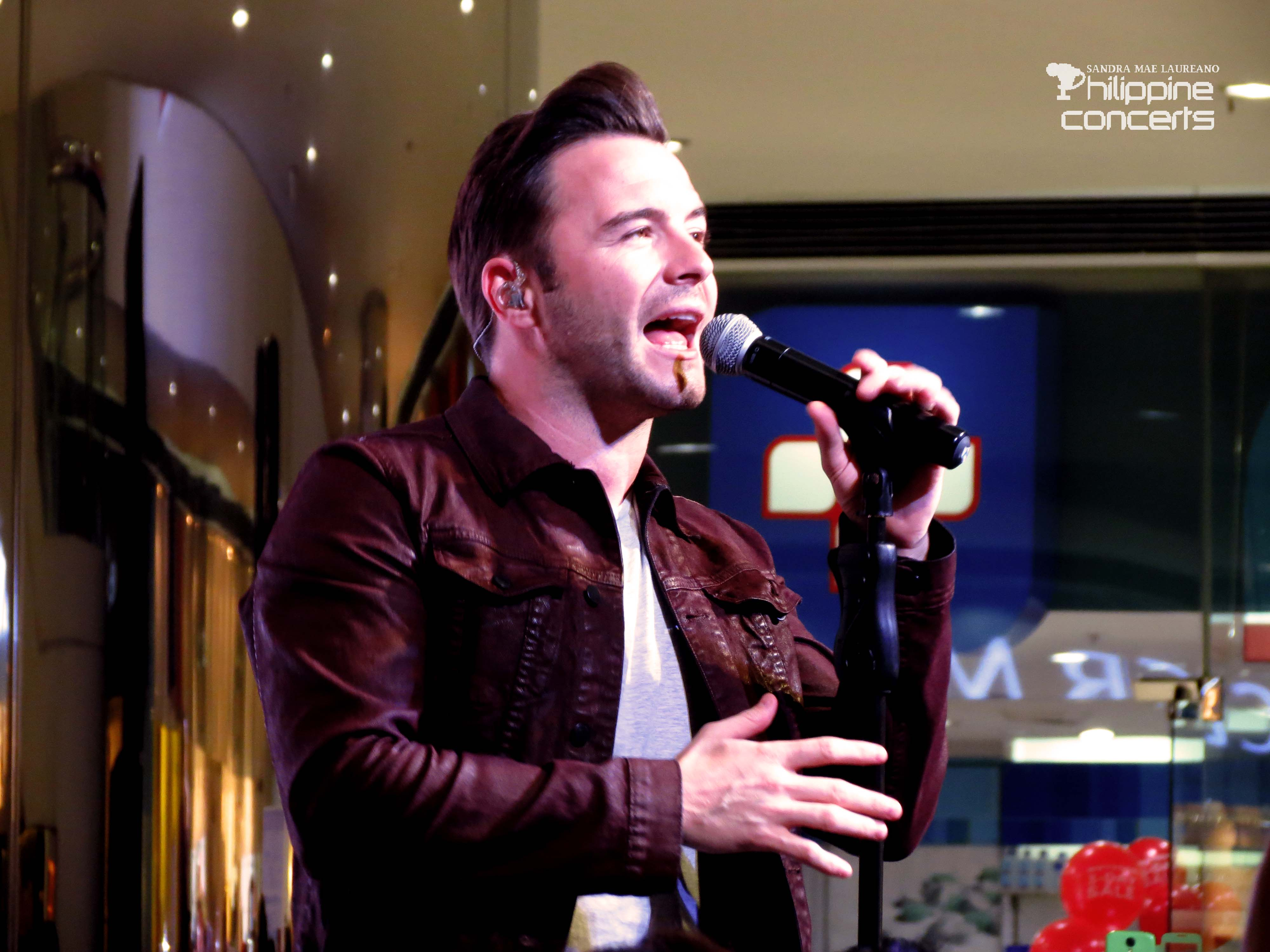 Shane Filan Serenades Manila for the Fifth Time