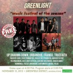 Greenlight Music Festival 2013