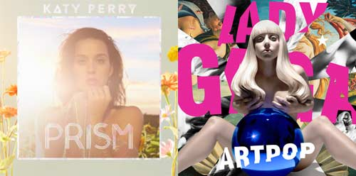 Katy Perry Prism vs Lady Gaga Artpop