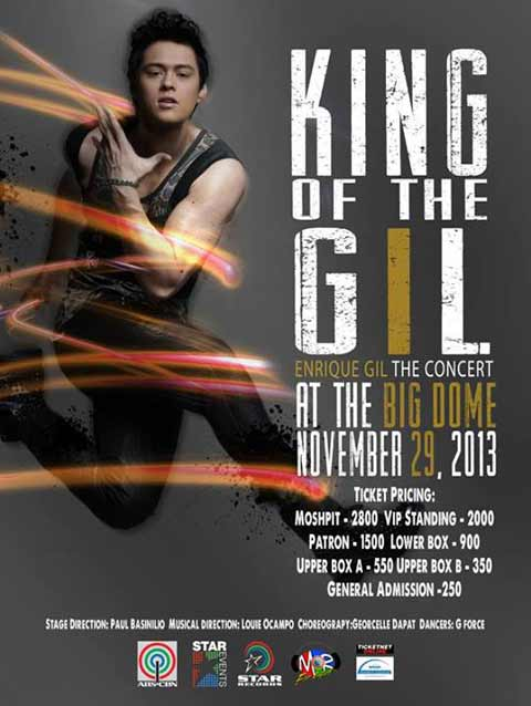 King of the Gil: Enrique Gil The Concert
