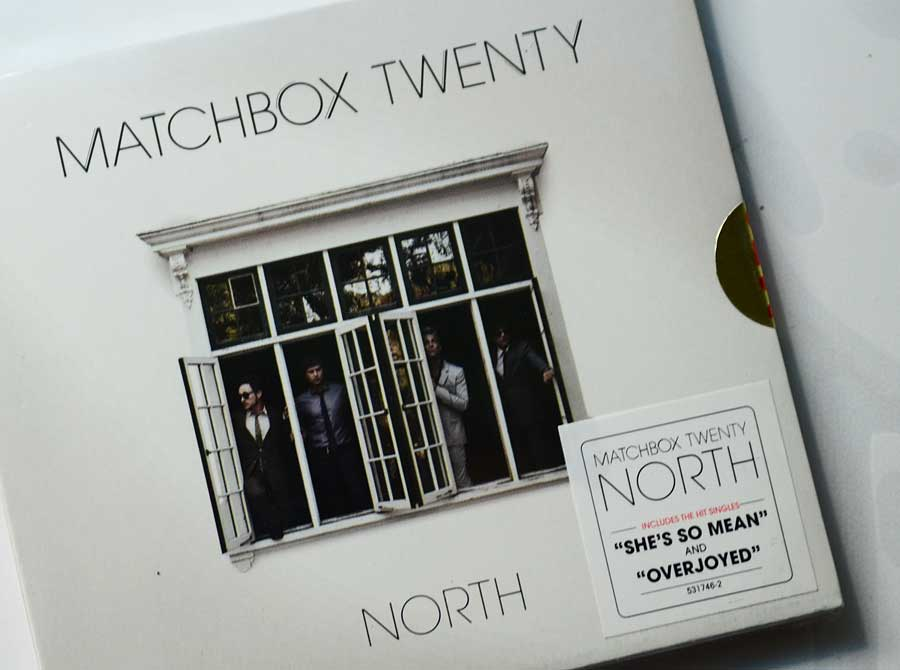 Win a Matchbox Twenty North Album