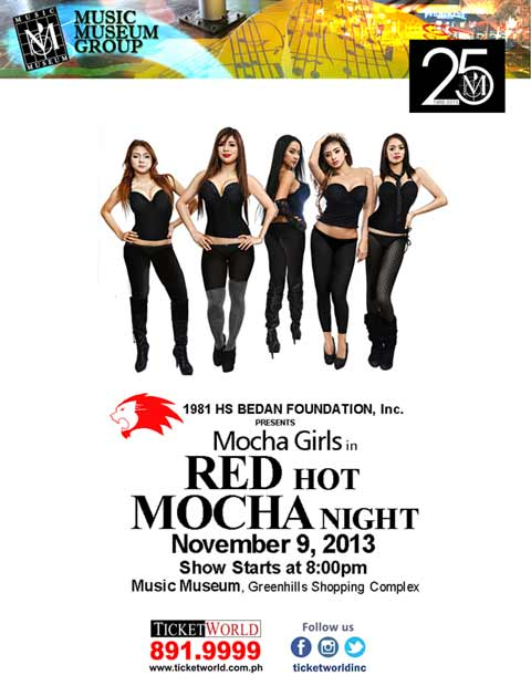 Mocha Girls Red Hot Mocha Night at Music Museum