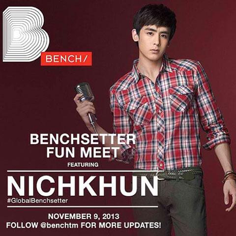 Benchsetter Fun Meet featuring Nichkhun