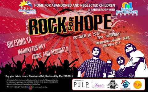 Rock for Hope! Fundraising Concert for Orphans