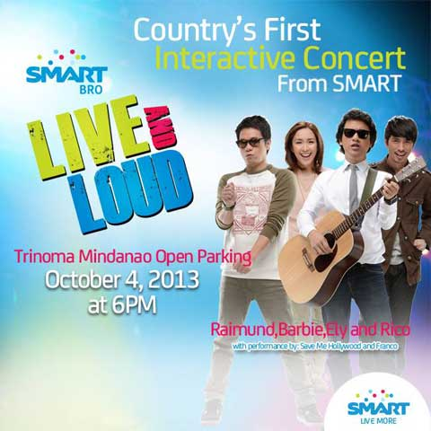 Smart Bro Live and Loud Interactive Concert