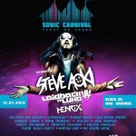 Sonic Carnival Feast on Sound featuring Henrix, Laidback Luke and Steve Aoki