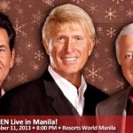 The Lettermen Live in Manila 2013