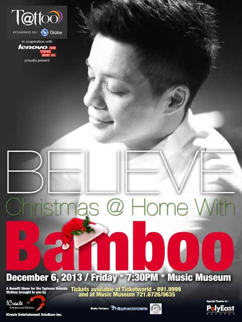 Christmas@Home with Bamboo at Music Museum
