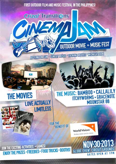 Cinema Jam Outdoor Movie & Music Fest