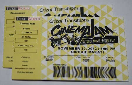 Cinema Jam Ticket Giveaway