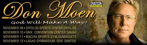 Don Moen Philippine Tour 2013