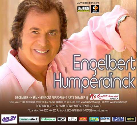 Engelbert Humperdinck Live in Manila and Davao