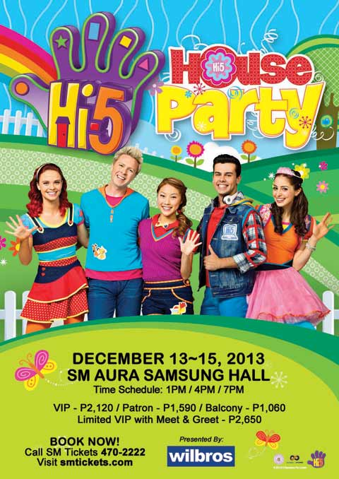 Hi-5 House Party this December 2013