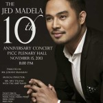 Jed Madela 10th Anniversary Concert