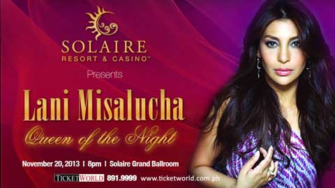 Lani Misalucha Queen of the Night at Solaire Resort