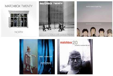 What is your favorite Matchbox Twenty Album?