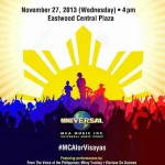 Music Comes Alive for Visayas: A Benefit Show for the Victims of Typhoon Yolanda