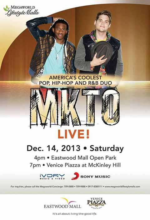 MKTO Live at Eastwood and Venice Piazza