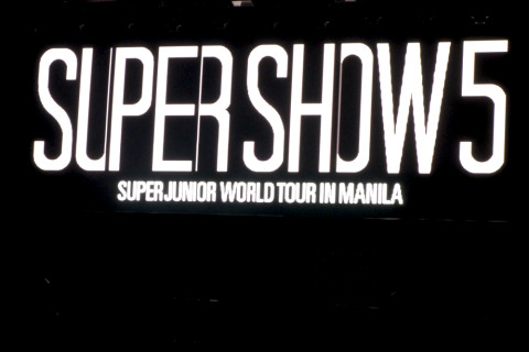 Super Junior World Tour Manila