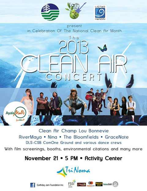 2013 Clean Air Act Concert