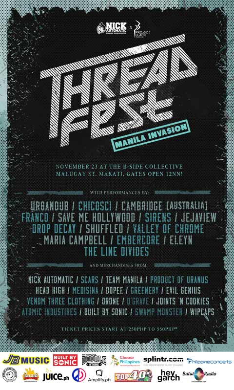 Threadfest Invasion Manila 2013