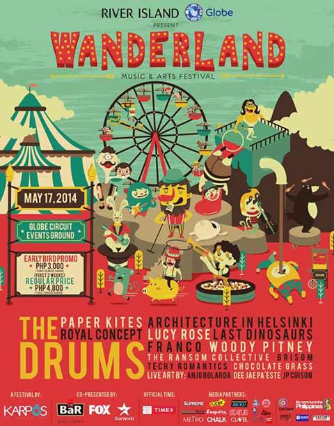 Wanderland 2014: Music and Arts Festival