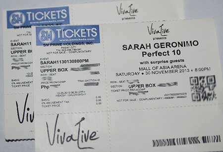 Win Tickets to Watch Sarah G Perfect 10 Concert at MOA Arena