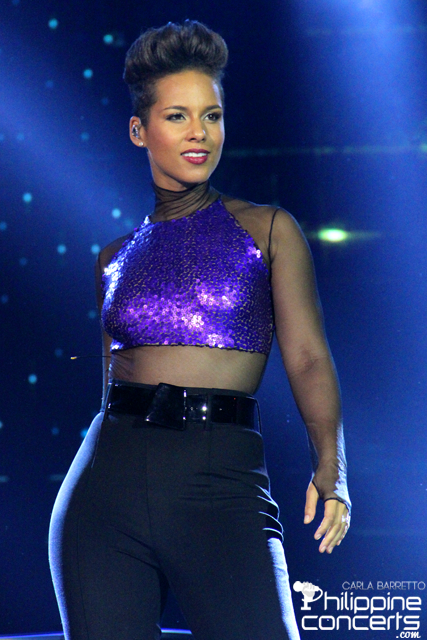 Alicia Keys: The Girl on Fire Illuminates Manila