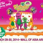 Barney's Birthday Bash Live in Manila 2014
